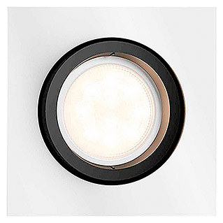 Philips Hue Foco downlight LED empotrable Milliskin (5,5 W, Blanco, L x An x Al: 9 x 10 x 9 cm)