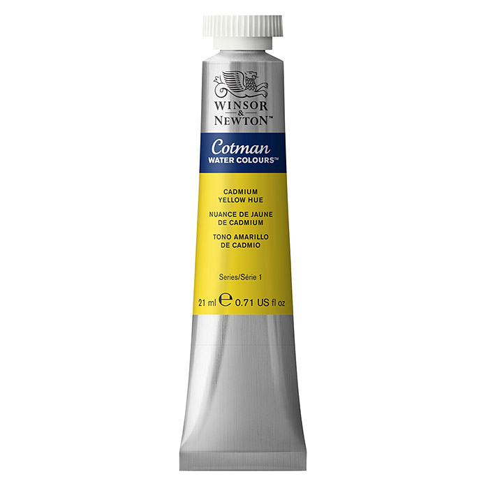 Winsor & Newton Cotman Aquarellfarbe (Kadmiumgelb, 21 ml, Tube) -