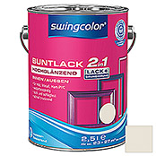 BUNTLACK 2IN1 HGL.WB2,5 l CREMEWEISS    SWINGCOLOR