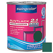 BUNTLACK 2IN1 HGL.WB750 ml MOOSGRUEN    SWINGCOLOR