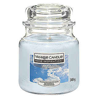 Yankee Candle Home Inspirations Duftkerze (Im Glas, Clear Blue Skies, Medium)