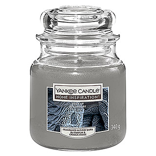 Yankee Candle Home Inspirations Duftkerze (Im Glas, Cosy Up, Medium)