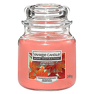 Yankee Candle Home Inspirations Duftkerze (Im Glas, Japanese Maple, Medium)