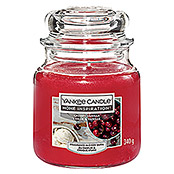Yankee Candle Home Inspirations Duftkerze (Im Glas, Cherry Vanilla, Medium)