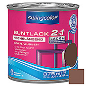 BUNTLACK 2IN1 HGL.WB375 ml NUSSBRAUN    SWINGCOLOR
