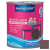 BUNTLACK 2IN1 HGL.WB750 ml SCHOKOBRAUN  SWINGCOLOR