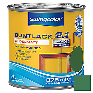 swingcolor 2in1 Buntlack  (Laubgrün, 375 ml)