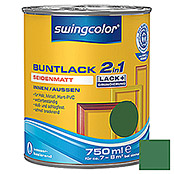 swingcolor 2in1 Buntlack (Laubgrün, 750 ml, Seidenmatt)