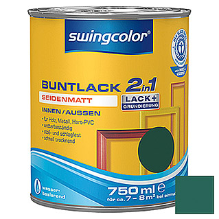 swingcolor 2in1 Buntlack  (Moosgrün, 750 ml)