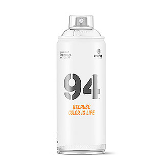 mtn Spray 94  (Blanco, 400 ml, Mate)