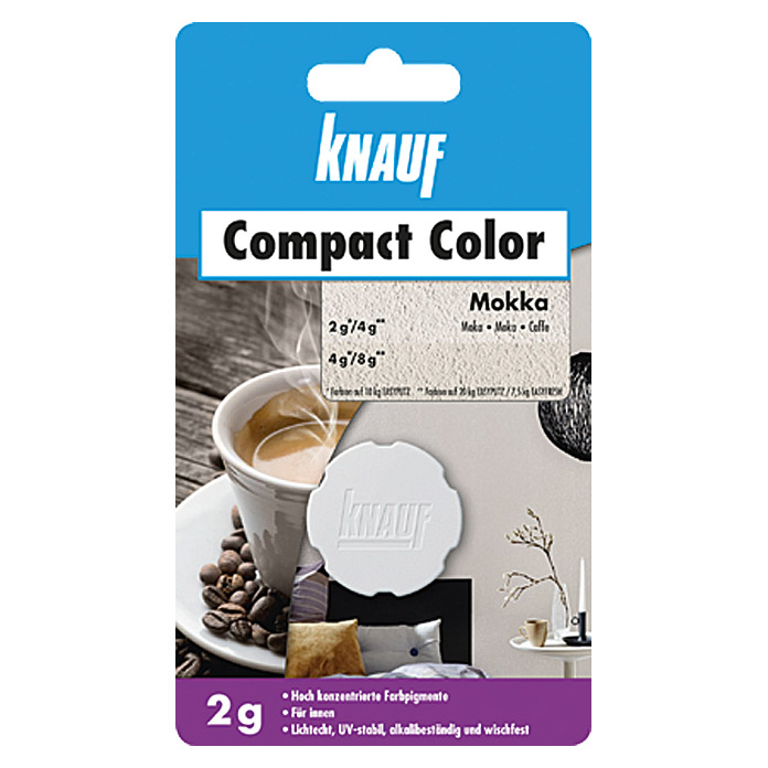 Knauf Putz-Abtönfarbe Compact Color (Mocca, 2 g)