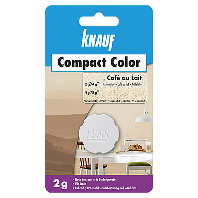 COMPACT COLOR 2 g   CAFE AU  LAIT       KNAUF