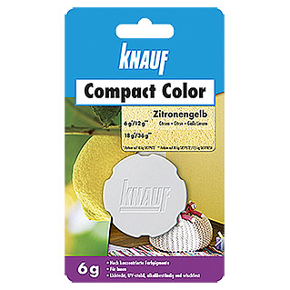 Knauf Putz-Abtönfarbe Compact Color (Zitrone, 6 g)