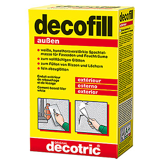 decotric Zement-Spachtelmasse decofill außen (1 kg)