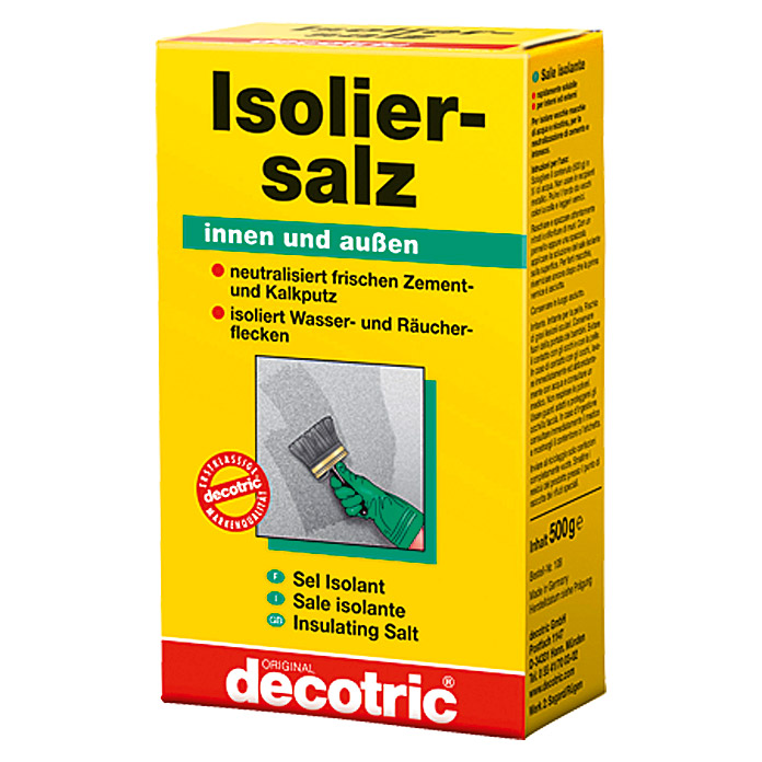 decotric Isoliersalz