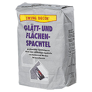 Swing Decor Glätt- & Flächenspachtel Innen (10 kg)