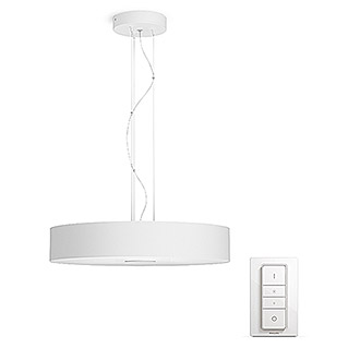Philips Hue Led-pendellamp Fair (39 W, Wit, Ø x h: 44,4 x 150 cm)