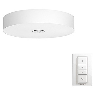 Philips Hue Led-plafondlamp, rond Fair (39 W, Wit, Ø x h: 44,4 x 9,8 cm)