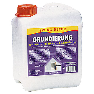 GRUNDIERUNG 5 l     SWINGDECOR