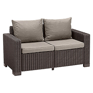 Allibert Loungesofa California (141 cm, Braun)