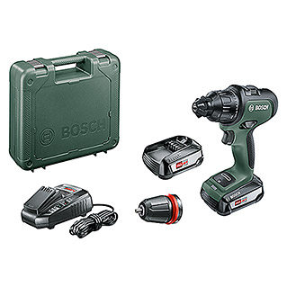 Bosch 18 V Power for All Accuklopboorschroevendraaier AdvancedImpact 18 (18 V, 2 accu's, 2,5 Ah, Onbelast toerental: 0 tpm - 1.500 tpm)