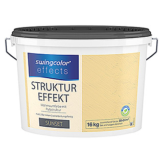 swingcolor effects Strukturfarbe (Putz, Sunset, 16 kg)