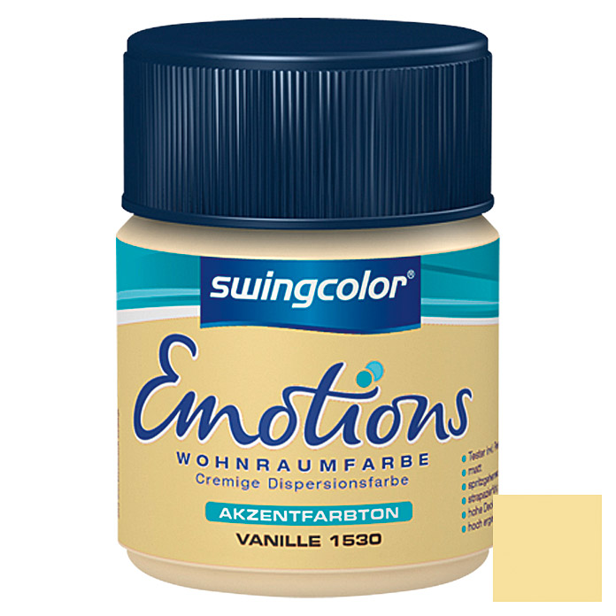 swingcolor Wohnraumfarbe Emotions Tester (Vanille, 50 ml)