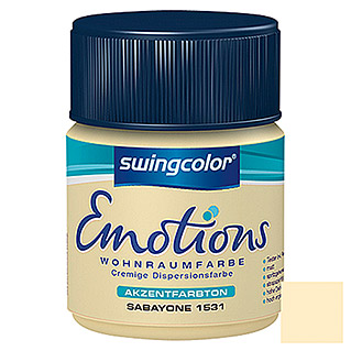 swingcolor Wohnraumfarbe Emotions Tester (Sabayone, 50 ml)