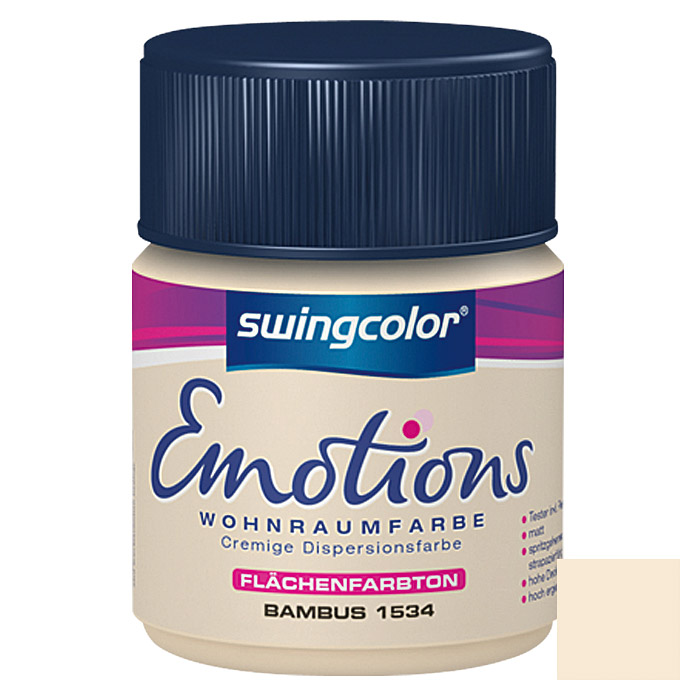 swingcolor Wohnraumfarbe Emotions Tester (Bambus, 50 ml)