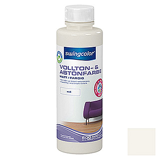 swingcolor Vollton- & Abtönfarbe (Weiß, 500 ml, Matt)
