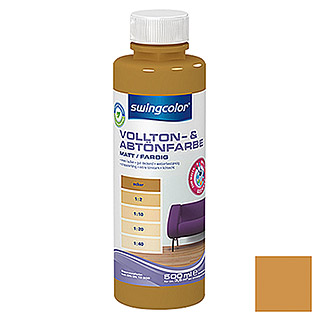 swingcolor Vollton- & Abtönfarbe  (Ocker, 500 ml)