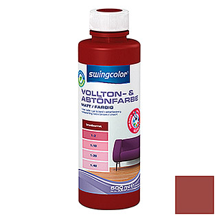 swingcolor Vollton- & Abtönfarbe (Brombeerrot, 500 ml, Matt)