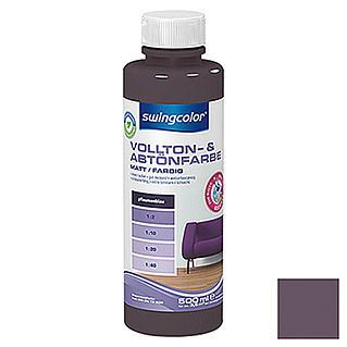 swingcolor Vollton- & Abtönfarbe (Pflaumenblau, 500 ml, Matt)
