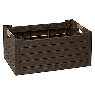 Caja plegable Florida Box marrón (L x An x Al: 59 x 39 x 28 cm, 50 l)