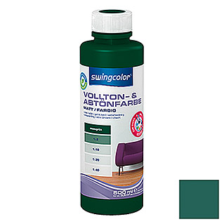 swingcolor Vollton- & Abtönfarbe  (Moosgrün, 500 ml)