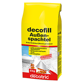 Decotric Zement-Spachtelmasse decofill außen (5 kg)