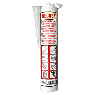 Decosa Pegamento universal (310 ml, Cartucho)
