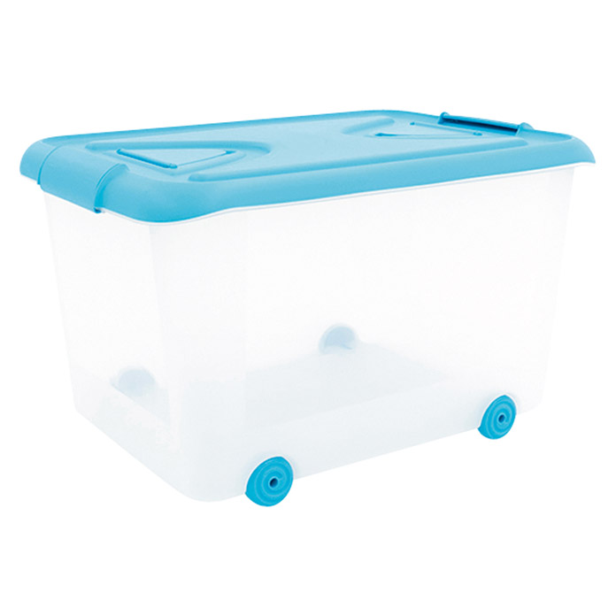 Plastiken Nature Multibox azul (L x An x Al: 65 x 38 x 45 cm, 70 l)