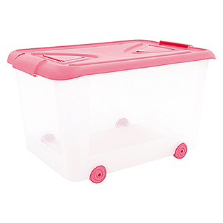 Plastiken Nature Multibox rosa (L x An x Al: 65 x 38 x 45 cm, 70 l)
