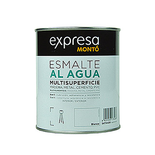 Montó Esmalte de color Multisuperficie (Blanco, 750 ml, Satinado)