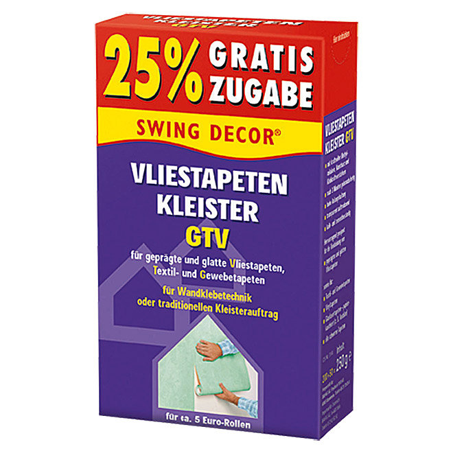 VLIESTAPETENKLEISTER200G+50g AKTION    SWINGDECOR