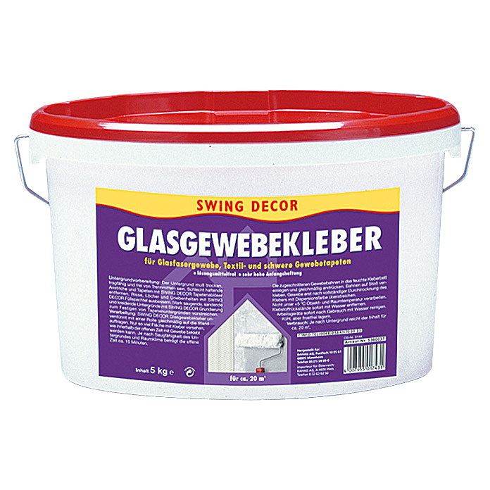 GLASGEWEBEKLEBER    5 kg                SWINGDECOR