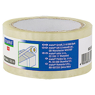 Packband  (Transparent, 50 m x 48 mm)
