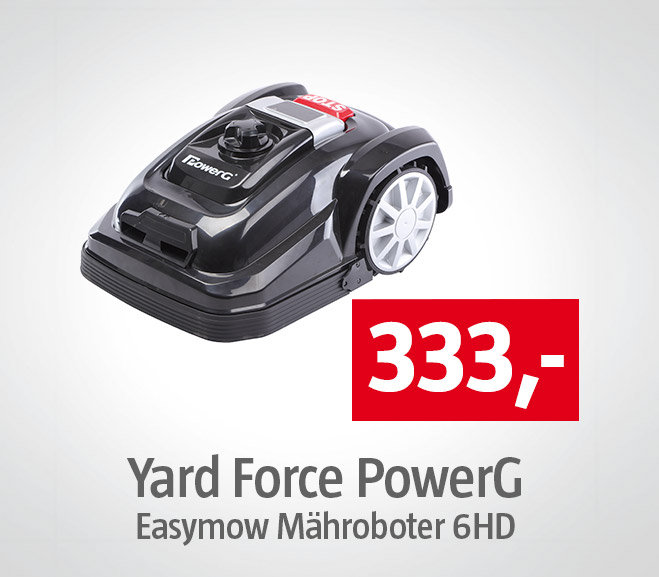Yard Force PowerG Easymow Maehroboter 6HD