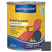 swingcolor Buntlack (Anthrazit, 750 ml, Seidenmatt)