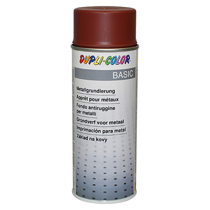 Dupli-Color BASIC Metallgrundierung  (Rotbraun, 400 ml)