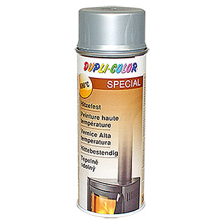 Dupli-Color Special Spray termorresistente (Plateado, 690 °C, Mate, 400 ml)
