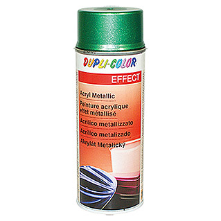 Dupli-Color Effect Acryl-Lackspray Metallic (Lindgrün Metallic, Seidenmatt, Schnelltrocknend, 400 ml)
