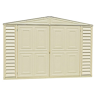Caseta de PVC Garage Bergerac (L x An: 478 x 318 cm, Espesor de pared: 20 mm)