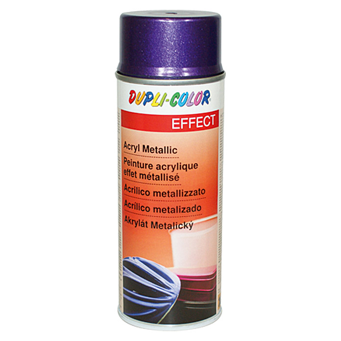 Dupli-Color EFFECT Acryl-Lackspray Metallic (Flieder Metallic, Seidenmatt, Schnelltrocknend, 400 ml)